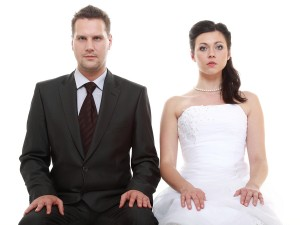 Unhappy marriage - photo credit: Bigstock.com